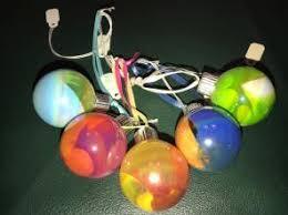 set of 3 handmade glass ornaments large mercari buy sell