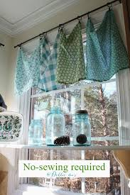 kitchen curtain ideas diy turquoise and kitchen curtains diy best 25 blue kitchen