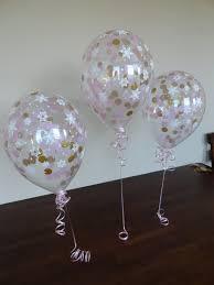 snowflake balloons 11 qualatex pink gold snowflake confetti balloons