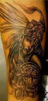 female mayan warrior tattoo by dino nemec krigare tatueringar