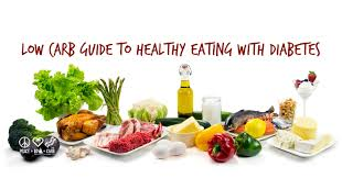 low carb guide to healthy eating with diabetes peace love and