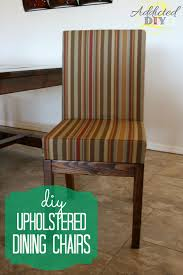 Upholstery For Dining Room Chairs Reupholstered Dining Room Chairs Captivating Decoration