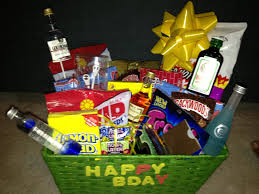 birthday baskets for him boyfriend birthday gift basket gift ideas