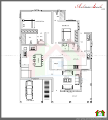 Cheap 4 Bedroom Houses Architecture Kerala Three Bedroom Two Storey House Plan Ground