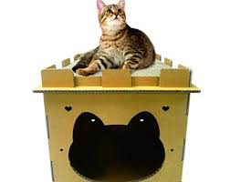 Modern Cat Trees Furniture by Free Standing Cat Scratcher Tree Modern Cat Furniture Cat