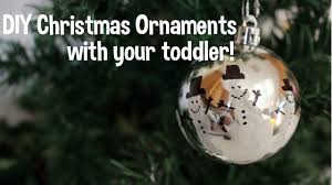 10 diy christmas ornaments toddler friendly youtube