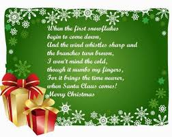 20 short christmas poems sayingimages