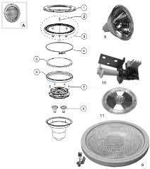 amerlite pool light parts pentair spectrum amerilite parts inyopools com