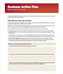 free action plan templates formats examples in word excel