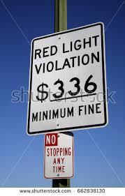 red light traffic violation red light traffic violation sign san stock photo royalty free