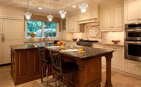 Kitchen Cherry Cabinets by Earthy Chic French Style Kitchen Plain U0026 Fancy Cabinetry