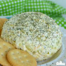 thanksgiving cheese ball recipe dill pickle cheeseball easy appetizer little dairy on the prairie