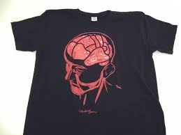Human Anatomy T Shirts Functional Anatomy Of The Human Braincotton T Shirt Vivid