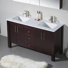 60 In Bathroom Vanity by Vanity Parsons 60 Double With Quartz Stone
