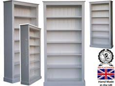 Solid Oak Bookcase Uk Narrow Pine Bookcase 6ft Tall 100 Solid Wood Bookcase Dvd Cd Or