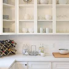 Kitchen Cabinets With Doors by White Kitchen Design Ideas
