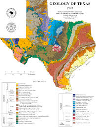 Texas Map Picture 1992 Geologic Map Of Texas 2246x2971 Mapporn
