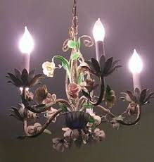 porcelain chandelier roses tole chandy chandeliers lights and l