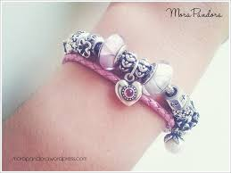 pandora leather bracelet pink images Pandora leather bracelet with jade charms this stack utilising png