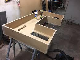 Diy Pc Desk Diy Pc Desk Replica Of Linus Pic Desk Build Logs Linus Tech Tips
