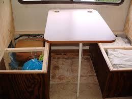 Rv Dinette Booth Bed Camper Dinette By Dadoo Lumberjocks Com Woodworking Community