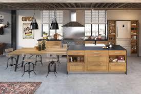 cuisine industrielle deco étourdissant cuisine industrielle deco avec cuisine style industriel