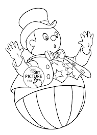 coloring pages wobblyman for kids printable free