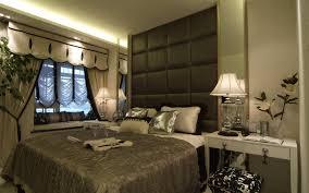 rustic romantic master bedroom interior design with white modern