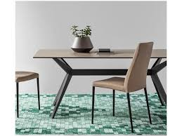 ceramic top dining room tables calligaris kent dining table