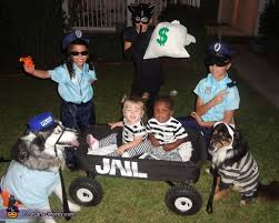Pauly Halloween Costume Cops U0026 Robbers Costume Halloween Costume Contest Costume