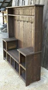 hall tree bench storage hall trees entryway furniture the home depot photo on