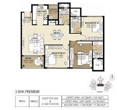 shapoorji pallonji parkwest floor plans 2 u0026 3 bedroom apartments
