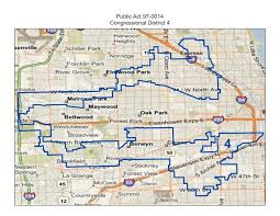 chicago gerrymandering map illinois 4th district racial gerrymandering the earmuffs