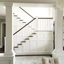 Wainscoting Ideas For Dining Room by Best 20 Wainscoting Stairs Ideas On Pinterest Stairway