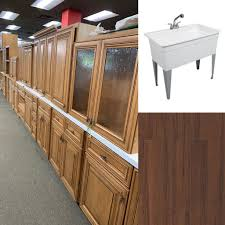 kitchen cabinet sink used upgrade your kitchen with this lightly used 24 maple