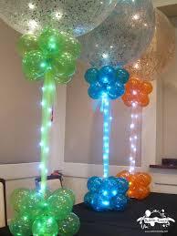 How To Make A Balloon Chandelier 20 Beautiful Diy Balloon Decoration Ideas Blue Orange Lights