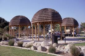 8 Sided Wooden Gazebo by Rustic Octagon Gazebo With Dome Roof Wood Pole Posts 16 Foot