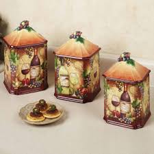 tuscan kitchen canisters tuscan kitchen canisters bodhum organizer throughout tuscan