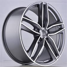 18 inch 19 inch pcd 5x112 hyper silver painting gunmetal color