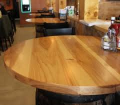 Restaurant Table Tops by Discover The Benefits Of Having Wood Restaurant Table Tops