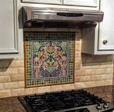 Kitchen Backsplash Mural Stone by Kitchen Cowboy Country Western Art Tile Mural Kitchen Backsplash