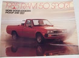 dealer dodge ram mopar nos dealer brochure 1985 dodge ram 50 sport 85 ebay