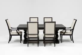Living Spaces Kitchen Tables by Chapleau 7 Piece Extension Dining Set Living Spaces