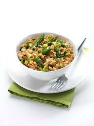 cuisiner le petit eautre recette de printemps risotto bio de petit épeautre de haute