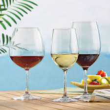 indoor outdoor wine glasses party set set of 12 wine enthusiast
