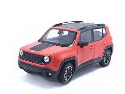 jeep renegade orange 2017 welly 1 24 jeep renegade diecast metal model car new in box orange