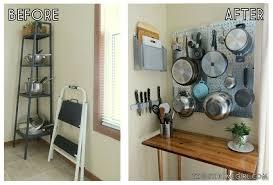 pegboard kitchen ideas 9 space making storage hacks for small kitchens