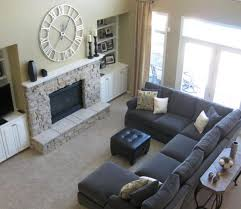 Sectional Sofa For Small Living Room Living Room Design Small Living Room Design Rooms With Fireplace