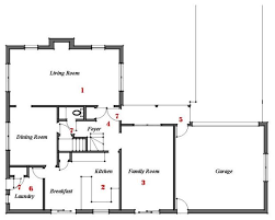 Family Room Floor Plans Renovation Ideas Playing With A Colonial U0027s Floor Plan
