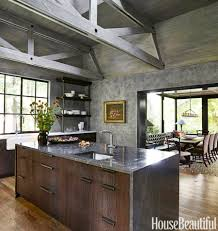 stone island kitchen rustic modern decor for country spirited sophisticates